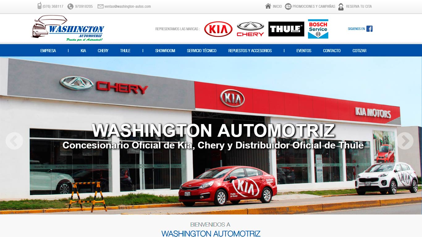 WASHINGTON AUTOMOTRIZ